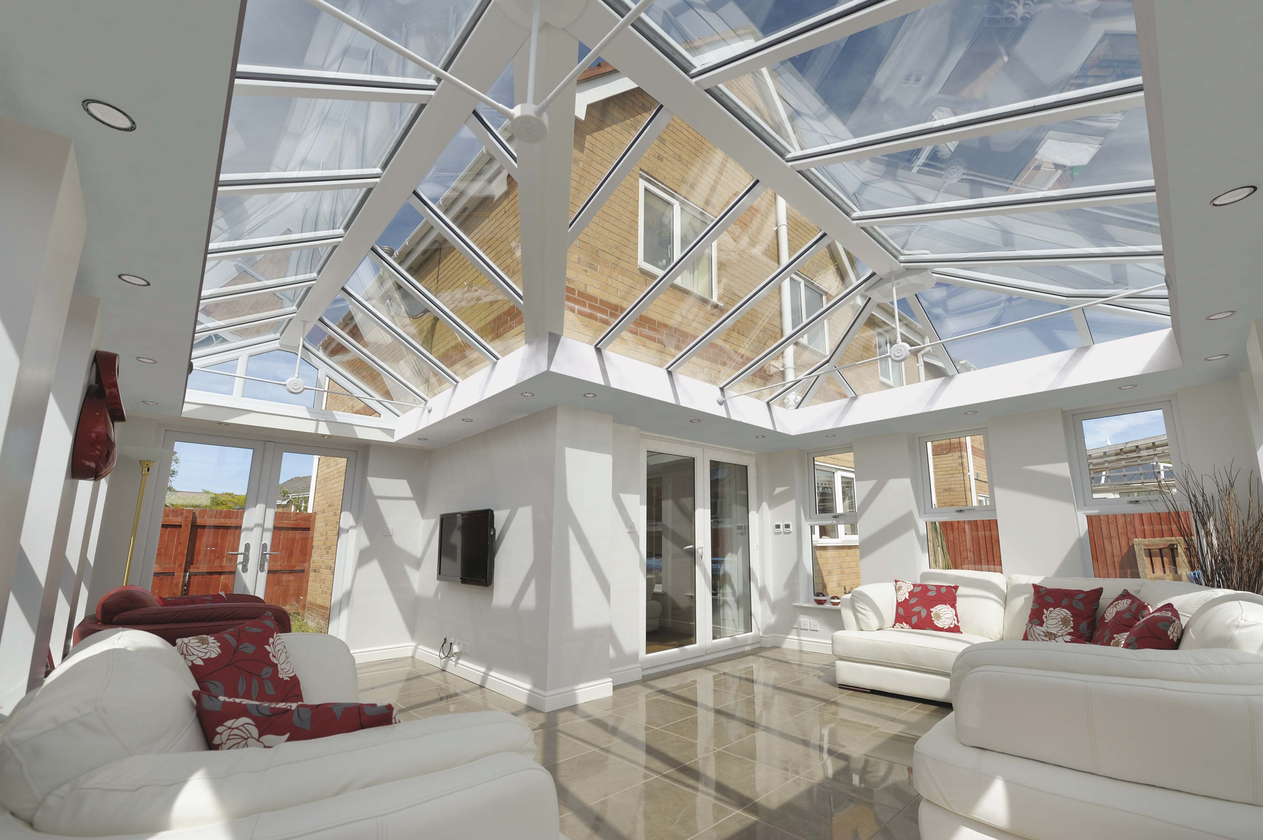 Glass Conservatory Roofs Harrogate